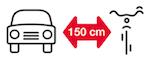 Kampania edukacyjna 150 cm dla rowerzysty